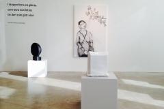 utställning på Mimers konsthall, Kungälv 2014